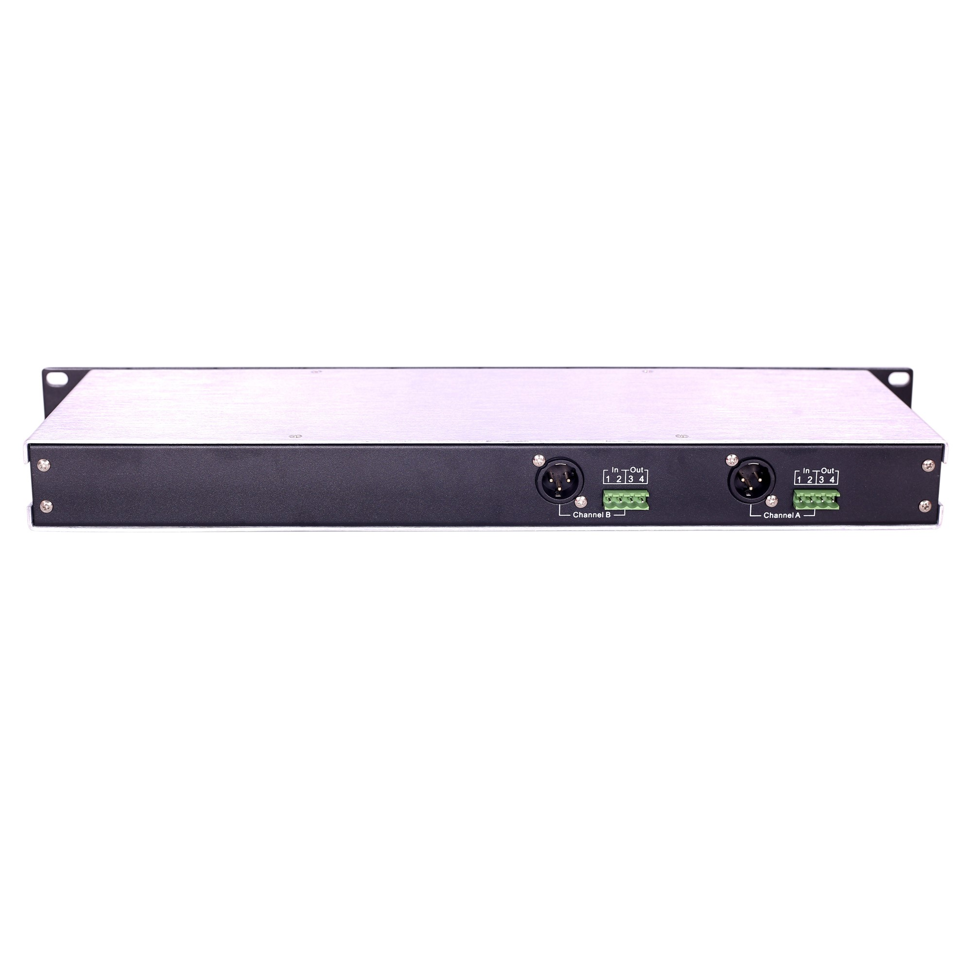 TELIKOU TF-204 two channel 2-Wire / 4-Wire Interface For CCU, Video Switcher